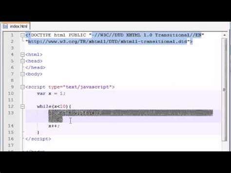 javascript tutorial while loop beginner javascript tutorial 20 while loop