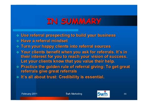 Mba Essentials Of Utah by The 5wh Of Referral Marketing1
