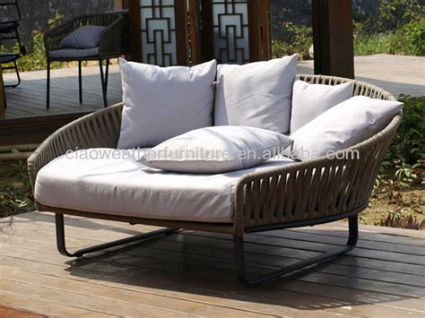 patio sofa bed folding outdoor sofa bed wicker sofa round daybed set
