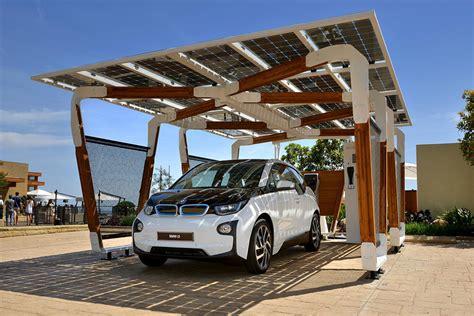 Solar Garage by Power Your Bmw Using A Solar Powered Garage