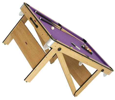 retractable table folding pool table