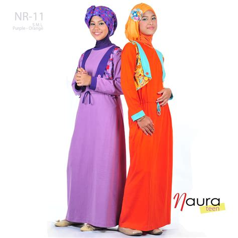 Baju Muslim Anak Naura busana anak remaja butik naura