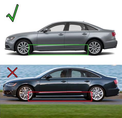 audi a6 mud flaps front rear molded mudflaps fit for 2011 2015 audi a6 c7