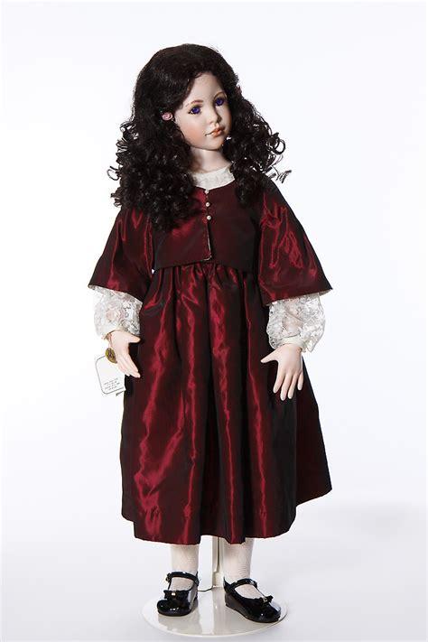 Singer Doll christiane porcelain soft limited edition doll