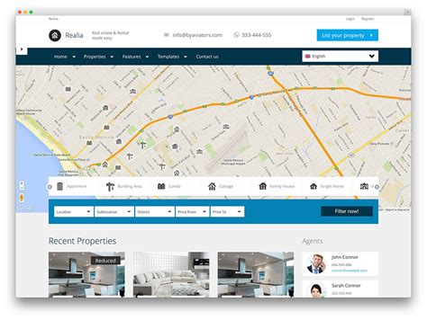 Free Rent To Own Homes Websites by 40 Best Real Estate Themes For Agencies