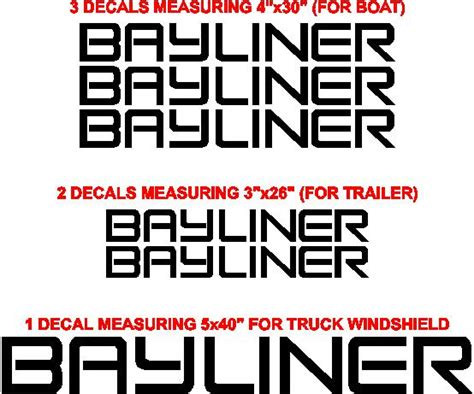 intrepid boat decals bayliner boats logo bing images