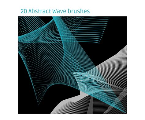 abstract pattern brushes photoshop abstract wave brushes for photoshop various high