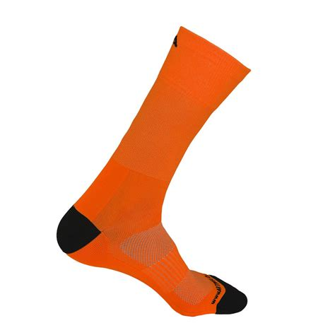 orange cycling cycling socks neon orange extra high l artivelo english