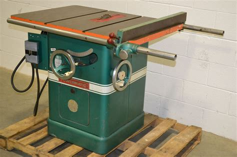 powermatic model 66 2hp 10 quot table saw 3 phase