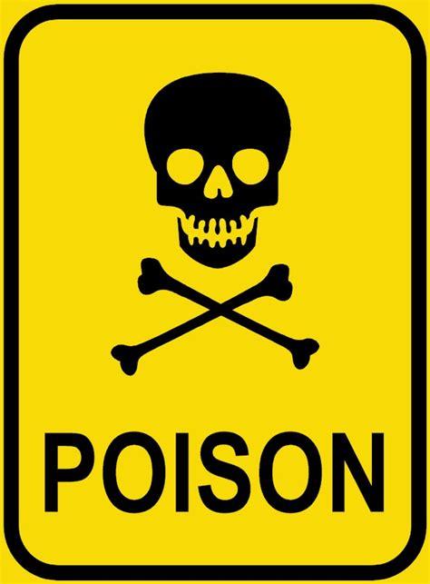 poison sign clipart best