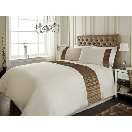 h and m bedding sara metallic pleat panel king size duvet set bedding b m