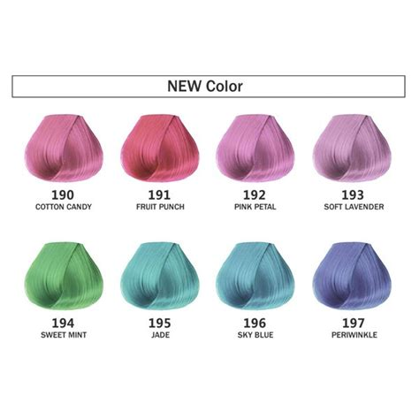 adore color adore shining semi permanent hair color 4oz