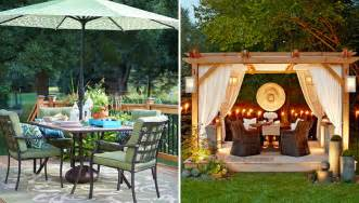 outdoor patio decor 10 deck and patio decorating ideas