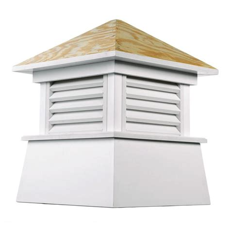 directions kent vinyl cupola with wood roof 18 in x