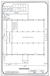proposed plan of mosque ground floor