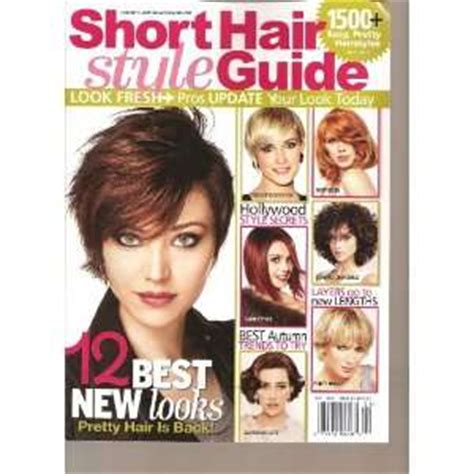 short hair style guide magazine how to choose very short hair styles 9781440027215