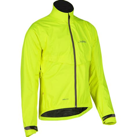 bicycle jackets waterproof wiggle dhb eq2 5 fluro waterproof cycling jacket