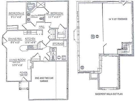 2 floor plans bedroom ranch the two bedroom ranch floor plan choose