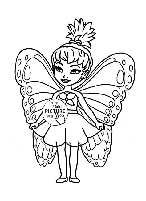 little girl printable pages coloring pages