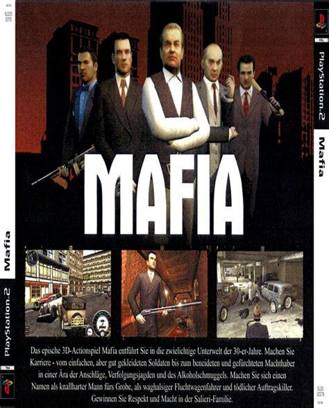 Mafia Ii Ps3 Cd mafia obaly covers playstation 2 na scorpions cz