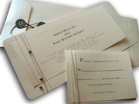 exles of unique wedding invitations creative wedding