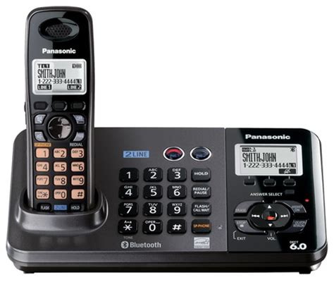 Telpon Telepon Telephone Wireless Panasonic Kx Tg3611 C Murah panasonic kx tg9381t bluetooth landline phone ecoustics
