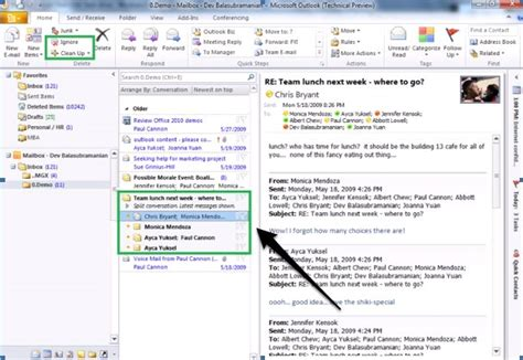 Outlook Not Searching Recent Emails Ms Outlook 2010 Daily Plm Think Tank