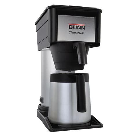 bunn coffee makers bunn btx thermal carafe coffee brewer
