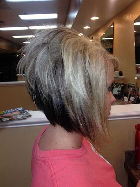 get stacked inverted bob 20 short hairstyle color ideas short hairstyles 2017