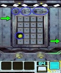 100 Floors 2013 Level 65 - 100 doors aliens space level 64 65 66