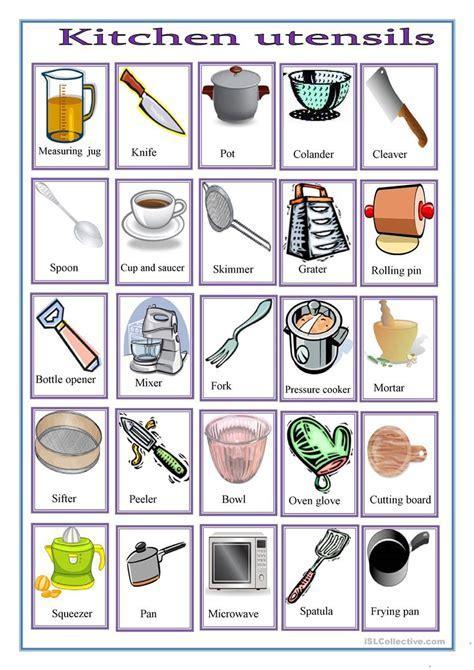 Common Kitchen Utensils Crossword Puzzle ? Wow Blog