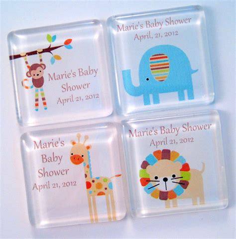 Baby Giveaways Ideas - baby shower giveaways ideas baby shower favors magnets zoo baby shower favors magnets
