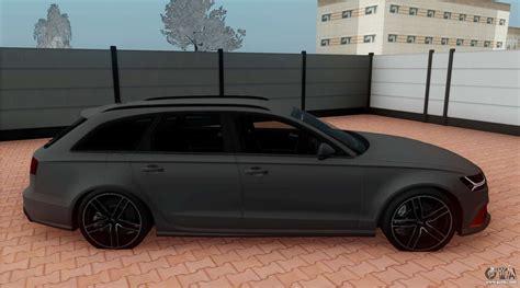 Audi Rs6 Avant C7 by Audi Rs6 Avant C7 Bulkin For Gta San Andreas