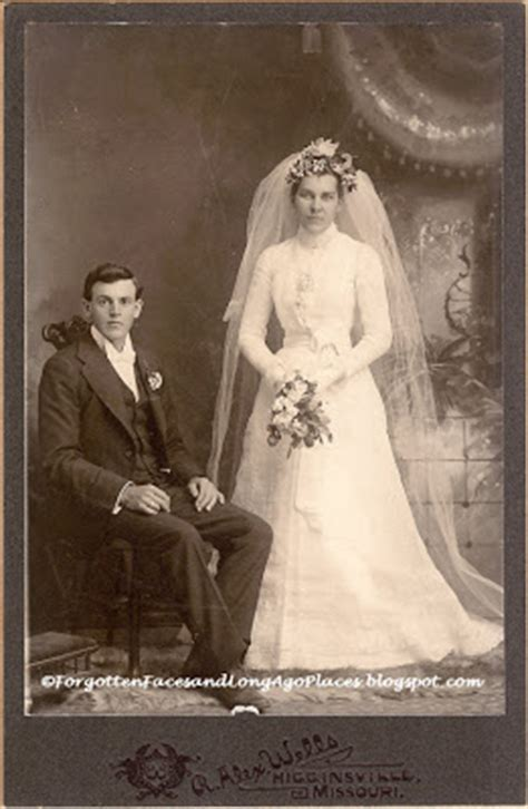 forgotten faces and long ago places: wedding wednesday
