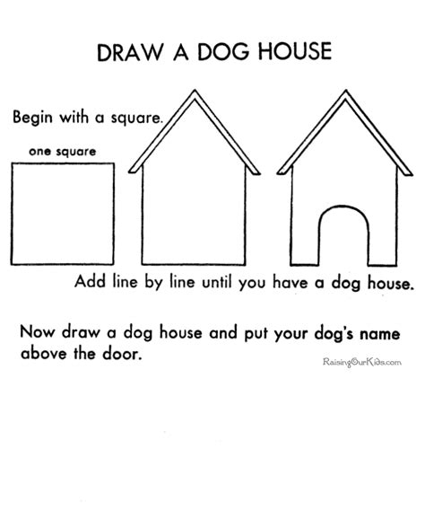 how to draw a house how to draw a house