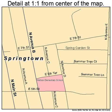 map of springtown texas springtown texas map 4869800