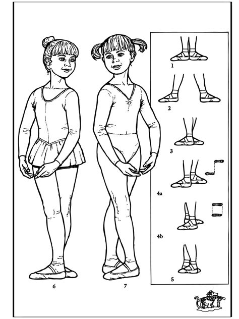 free coloring pages of balletshoes
