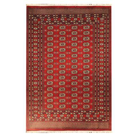 Hri Bokhara Collection Hand Knotted Wool Area Rug 9x12 Area Rug 9x12