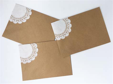 Hochzeitseinladung Kuvert by Diy Hochzeitseinladungen Vintage Spitze Kuvert