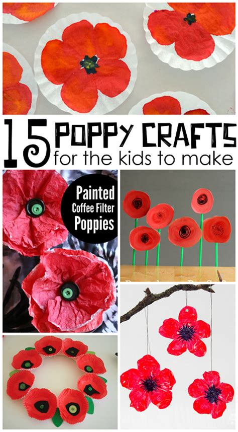 remembrance day crafts for beautiful poppy crafts for to make crafty morning