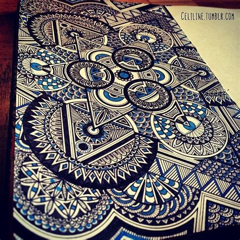 draw doodle for draw something diet zentangle