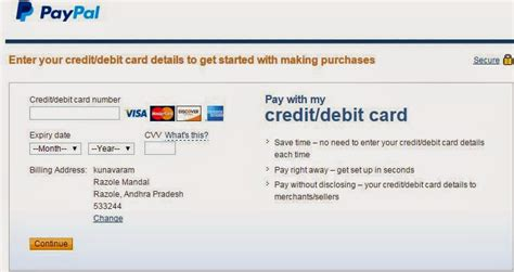 make a paypal account with debit card how to create and verify paypal account in india the