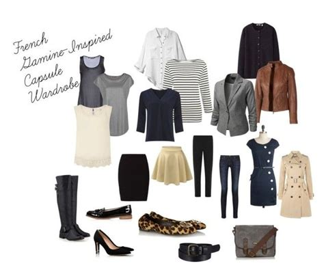 french women 10 item wardrobe french gamine inspired capsule wardrobe by eikler on