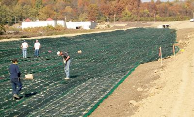 high performing turf reinforcement mats provide stormwater