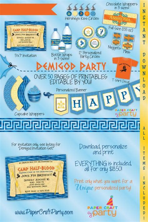 Percy Jackson Birthday Card 25 Best Ideas About Percy Jackson Birthday On Pinterest