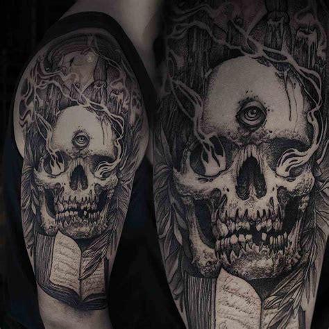 tatuajes de calaveras para hombre 191 un desaf 237 o a la muerte