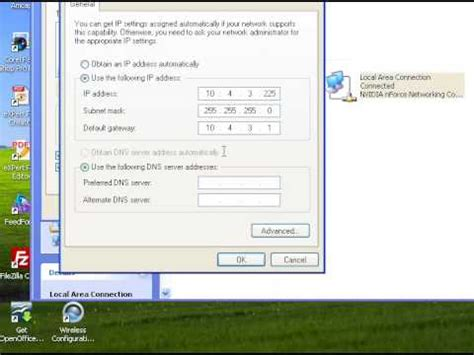 configurare ip configurare adresa ip