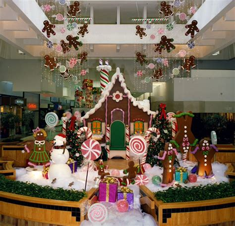 gingerbread house mall set santa photo sets props gingerbread mall and