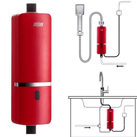 Kitchen Sink Water Heater 220v 3000w Portable Instant Electric Water Heater System Sink Tap Faucet Alex Nld