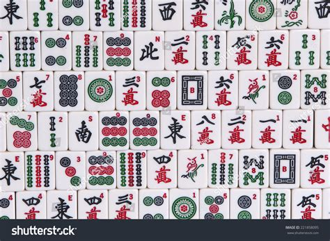 mahjong tiles stock image image of asian ancient mahjong tiles stock photo 221858095 shutterstock